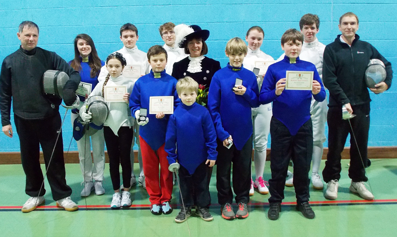 Medal Honours For West Wight Fencers Island Echo 24hr