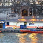 ALL-ACTION STINT ON THE THAMES FOR ANDREA