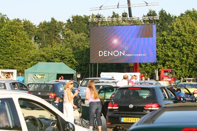 DRIVE-IN MOVIES SET FOR AUGUST RETURN