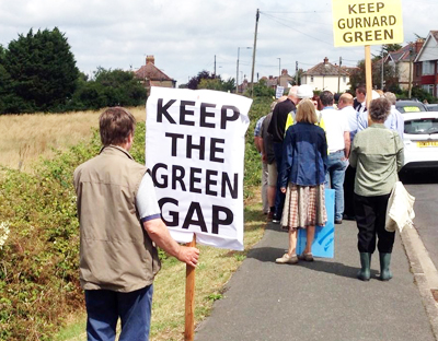 GURNARD HOMES PLAN THROWN OUT