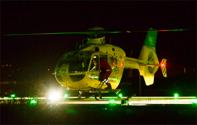 AIR AMBULANCE COMMITS TO FULL NIGHT FLYING CAPABILITY