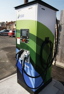 Rapid Electric Charge Point - right