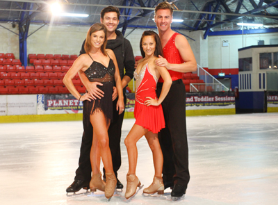 STARS AND PROFESSIONALS PREPARE FOR ICE SPECTACULAR