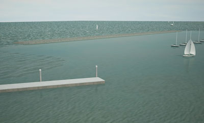 COWES BREAKWATER PROGRAMME PUSHES FORWARD