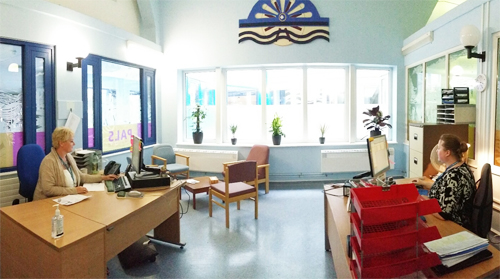 PATIENT ADVICE AND LIAISON SERVICE MOVED TO HELP
