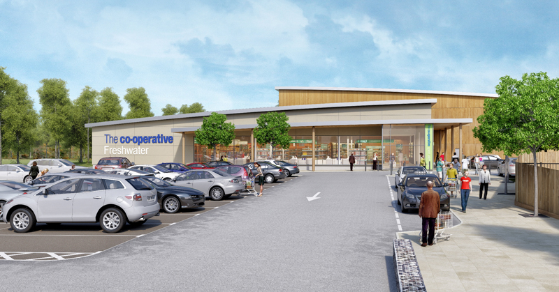 NEW CO-OPERATIVE STORE SET TO BE THE BIGGEST
