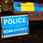 DRIVER FLEES SCENE OF KNIGHTON CRASH