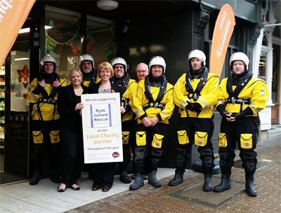 NEW SAINSBURY'S STORE TO SUPPORT RYDE INSHORE RESCUE