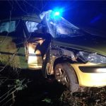 INJURY FEARS AFTER DRIVER FLEES CALBOURNE RTC