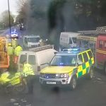 FIRE SERVICE CALLED TO SERIOUS RTC