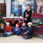 PRIMARY SCHOOL PUPILS GET FESTIVE FOR LOCAL SUPERMARKET