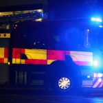FIRE CREWS CALLED TO BUS FIRE