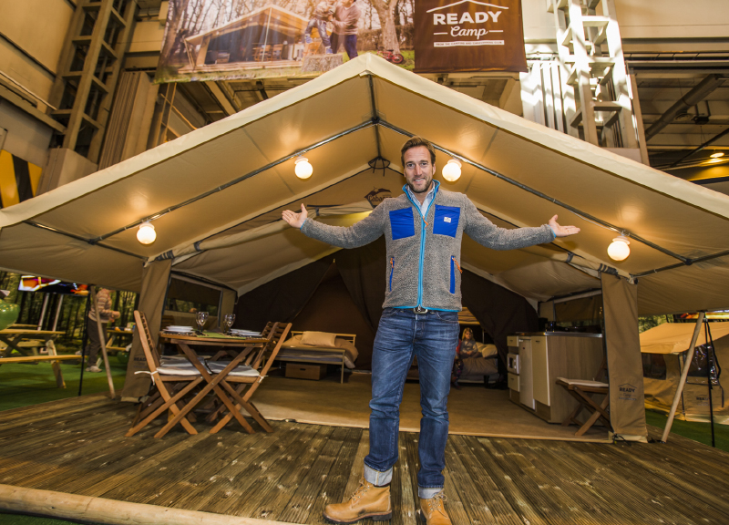 BEN FOGLE HELPS LAUNCH NETWORK OF NEW GLAMPING TENTS ...