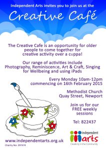 Creative Cafe POSTER January 2015