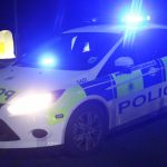 POLICE DESCEND ON COLWELL COMMON