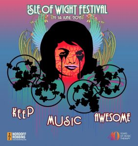 PURE EVIL ISLE OF WIGHT POSTER.Lores