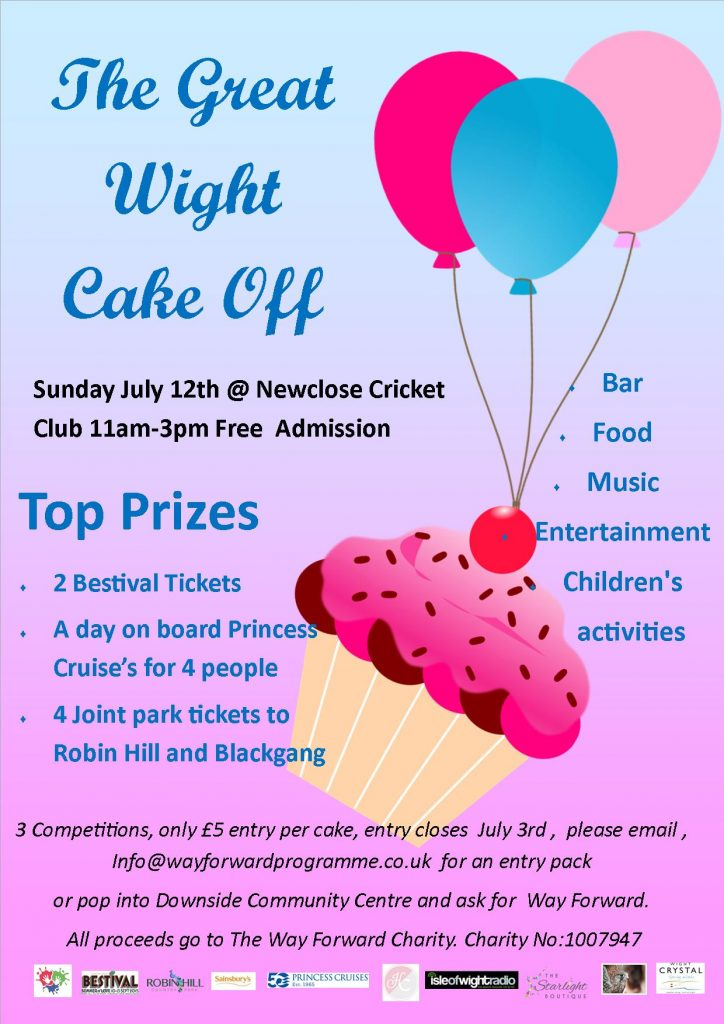 cake off poster