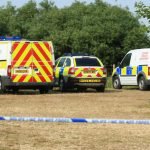 MARSHLAND CORDONED OFF BY POLICE AFTER BODY DISCOVERY