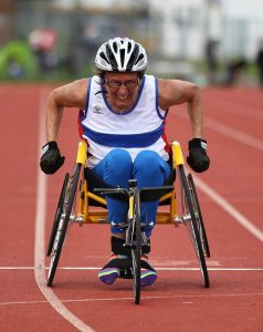 Jude Caunter wheelchair athlete wightlink