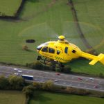 AIR AMBULANCE CREW BEGIN NIGHT TRAINING IN NEW HELICOPTER