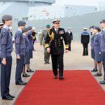 AIR CADETS JOIN CREW OF HMS CATTISTOCK AS SHE RETURNS TO SERVICE