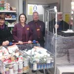 SAINSBURY'S DONATE TO NEWPORT'S HOMELESS NIGHT SHELTER