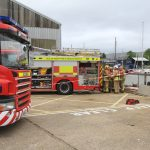 COASTGUARD AND FIRE SERVICE RESPOND TO SINKING BOAT…AGAIN