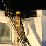 ROOF FIRE AT SHANKLIN HOTEL