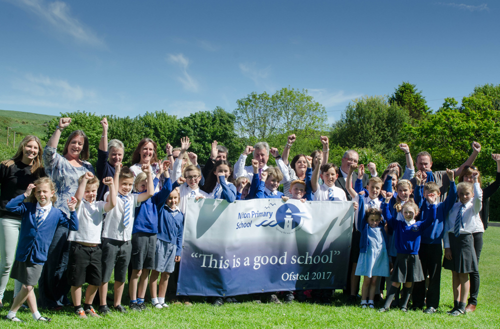 Remarkable Turnaround For Niton Primary School Celebrated