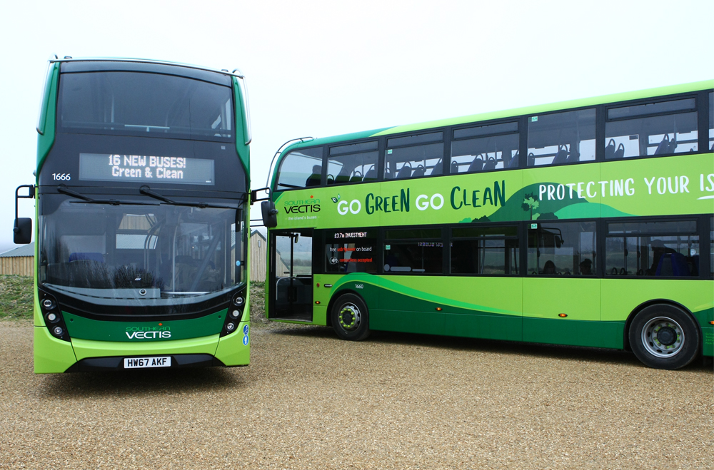 Southern vectis Bus Timetable April to  September 2019 ###NEW####