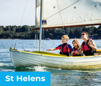 Tackt-Isle Adventures - Out on the water in St Helens