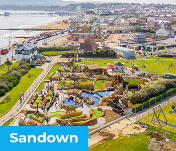 Sandham Gardens - A Day out with the Kids in Sandown