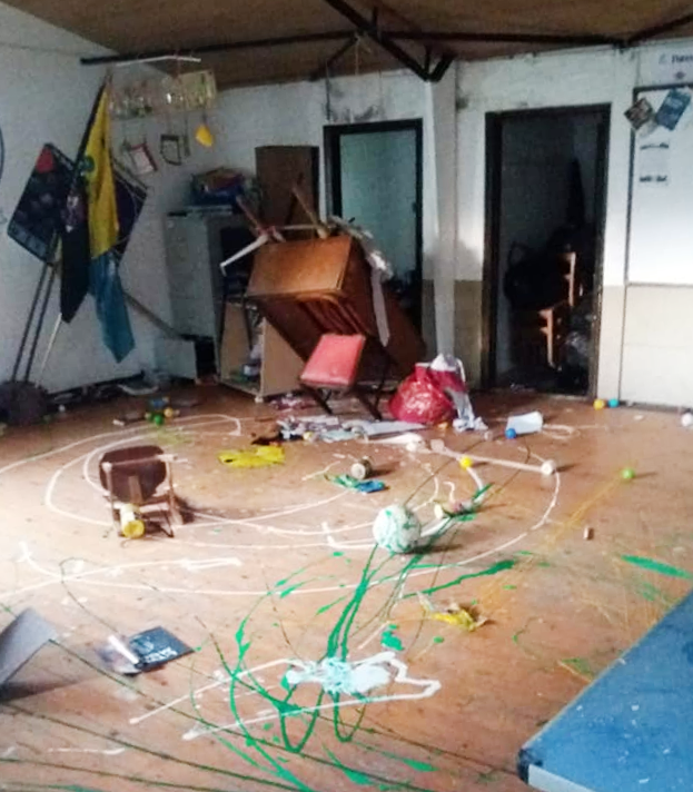 Ashington Group Meeting Hut: ISLE OF WIGHT SCOUTS SHOCKED OVER VANDALISM AND THEFT AT