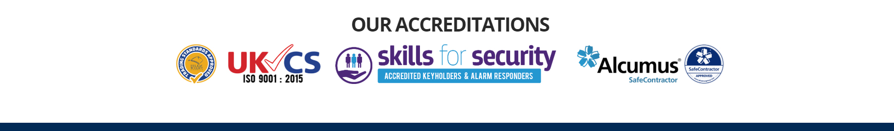 Vectis Group Security - Accreditations