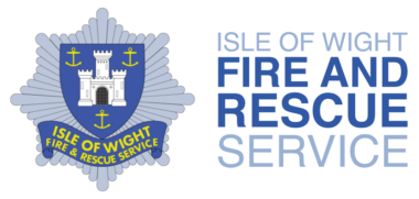 Isle of Wight Fire and Rescue Service (IWFRS) Logo with text