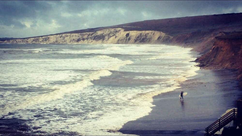 Lovely Compton In Compton Bay (lisa Valerie Charman)