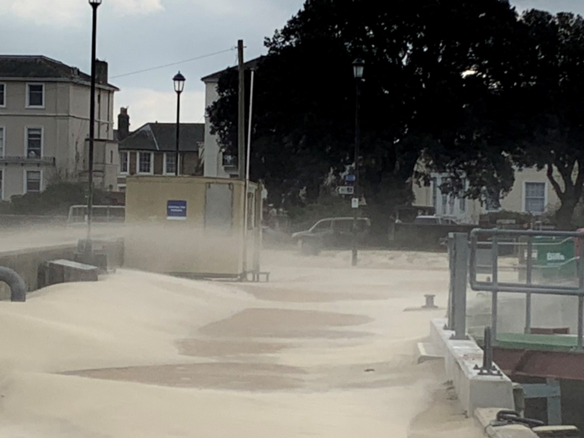 Sand Drifts In Ryde. (jane Grewcock)