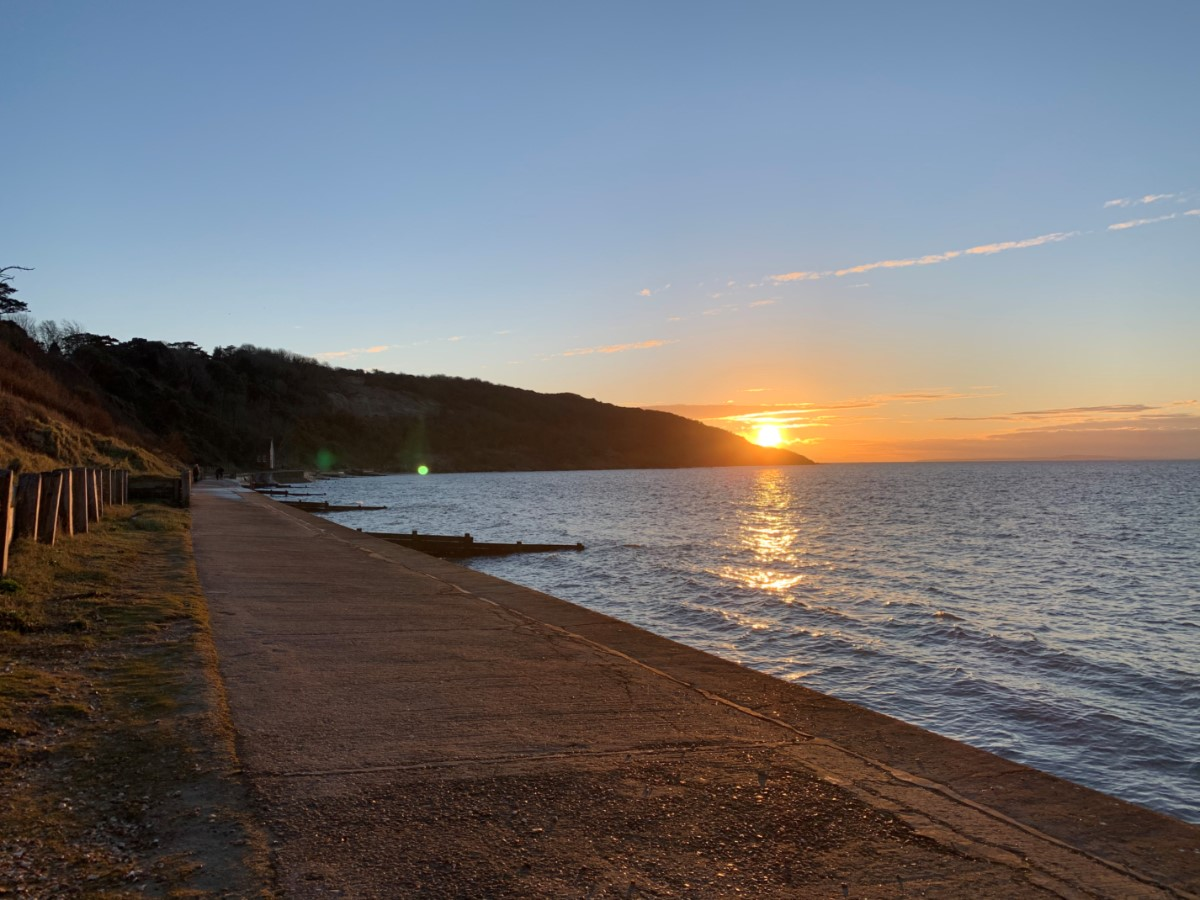 Sunset In Totland Bay (paul) 2
