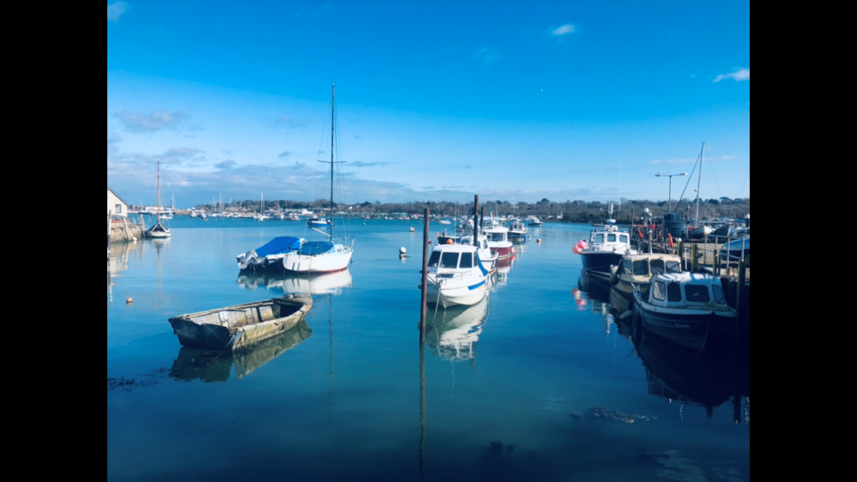 Gotta Love Days Like These Bembridge Harbour (ady Wilkinson)