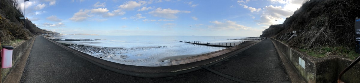Culver To Bonchurch View Early Evening Stroll At Lake Beach ~ Photo Credit Ady Wilko