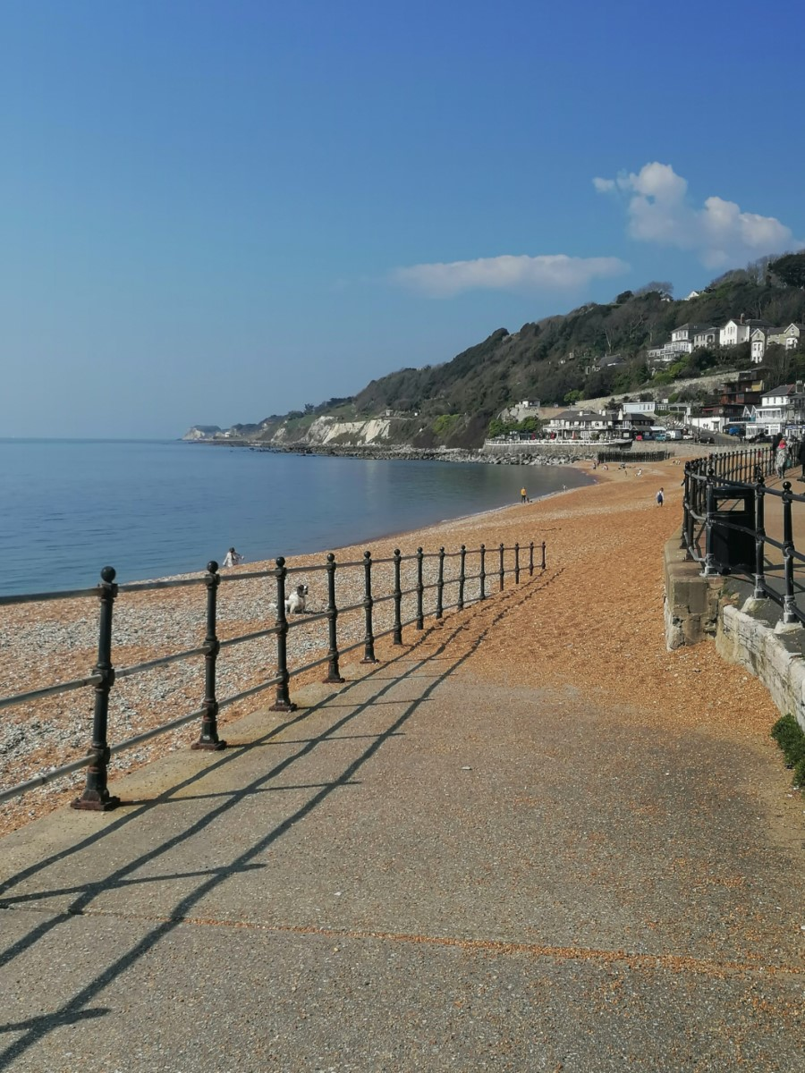 Seafront Ventnor ~ Photo Credit Fran Hayter