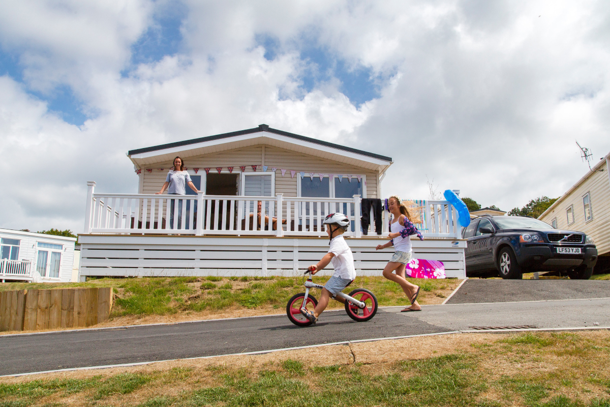 Family fun at Whitecliff Bay Holiday Park in Bembridge