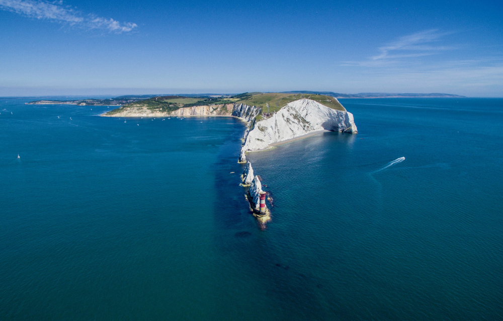 The Needles - an iconic landmark on the Isle of Wight